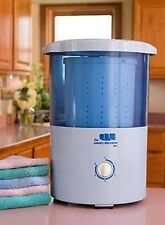 The Laundry Alternative Mini Countertop Spin Dryer Clothes Spin Dryer Portabl...