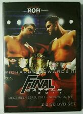 *NEW* ROH Ring Of Honor Wrestling Final Battle 2011 NYC 2-Disc DVD