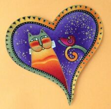 Laurel Burch Heart Applique*Handmade/89