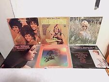 195 Lot 6 LPs+Supremes+Teresa Brewer+Roger Williams+Greatest Country+Eddie Dean+