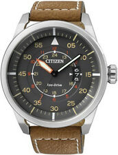 Men's Citizen Eco-Drive Aviator Pilot Watch AW1361-10H