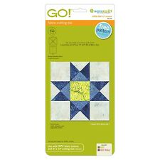 """Accuquilt Go! Ohio Star 12"""" Finished Fabric Cutting Die 55174"""