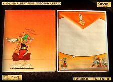 Rare ASTERIX Vintage 1982 RARO collezione Letter set papeis papel carta lettere