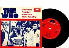 THE WHO EP PS Substitute AUSTRALIA EPH 60029 VERY RARE AUSSIE POLYDOR NICE COVER