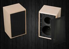Pair Speaker Box For Rogers LS3 / 5A, Rogers LS 3 / 5A maple BBC spec