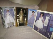 ELIZABETH TAYLOR AS CLEOPATRA & FATHER OF THE BRIDE & BOTH WHITE DIAMONDS NRFB!!