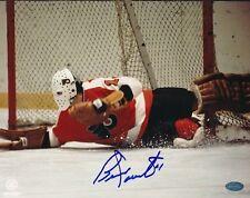 Bernie Parent Flyers Signed 8x10 Photo Autograph Auto Mounted Memories