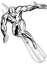 SILVER SURFER (Marvel Comics) decal sticker home bike car lap top