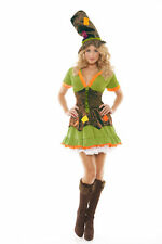 Halloween Ragamuffin M 10-12 uk Fancy Dress Costume Hen Night Party Witch