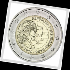 2 EURO *** Portugal 2010 *** 100 ans republique *** 100 jaar republiek !!!