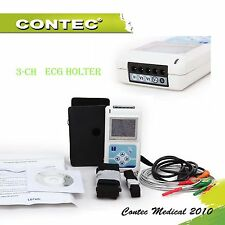 CONTEC 3-Channel 5-leads ECG / EKG Holter analisi software Elettrocardiogramma