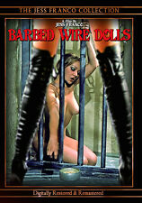Barbed Wire Dolls DVD, Directed by Jess Franco, Full Moon Features