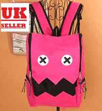 Japanese Robot  Backpack School Bag Shoulder Bag Pink