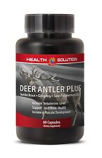 Aging Male Sex Booster - Deer Antler Plus 550mg - Stinging Nettle Root 1B