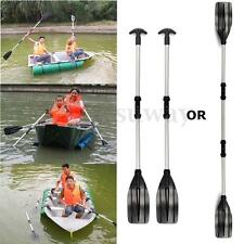 New 1 Pair Joint Oars Set Aluminum Paddles Boat Kayak Raft Canoe Handle 133cm