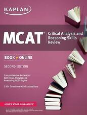 Kaplan MCAT Critical Analysis and Reasoning Skills Review: Book + Online (Kaplan