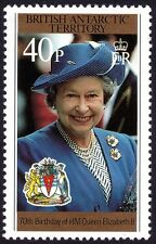 Br. ANTARCTIC TERRITORIES 1996 QE2 70th Birthday 40p only 1v MNH @E1979