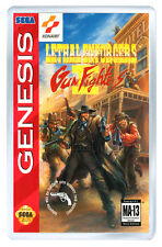 LETHAL ENFORCERS 2 MEGA DRIVE FRIDGE MAGNET IMAN NEVERA