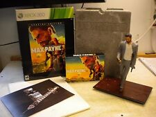 XBOX 360 SPECIAL EDITION FIGURE MAX PAYNE 3 COLLECTORS FAST FREE SHIPPING