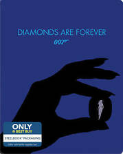 007 James Bond - Diamonds Are Forever (Blu-ray/Digital HD, 2015, Steelbook) NEW