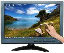 "10.1"" USB Multimedia Player LCD Touch Screen HDMI AV BNC VGA TFT LED Monitor AU"