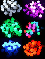 LED Fairy Rope String Bulb Light Christmas Window Wall Festive Decoration Party