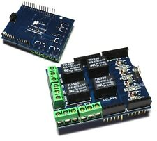 Four channel Relay Shield 5V 4 Channel Relay Shield Module for Arduino - UK