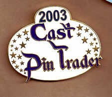 Disney Fantasy LE pin CAST PIN TRADER SINCE 2003 ID BADGE NAMETAG