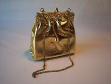 Vintage Women's Casual Gold Coin Clutch Bag
