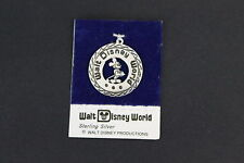 Walt Disney World Productions Mickey Mouse Sterling Silver Coin Charm Pendant