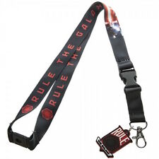Star Wars 7 Rule The Galaxy Double Sided Lanyard Keychain ID Holder With Charm