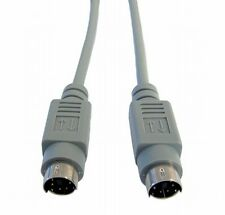 2m Ps2 switchbox Cable 6 Pin Mini Din Macho A Macho