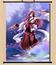 Anime Fairy Tail Erza Scarlet Ailosa Home Decor Wall Scroll Poster Japanese x2
