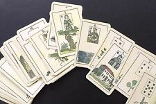 Unknown Antique Vintage Lenormand Fortune Telling Oracle Cards Deck Reproduction