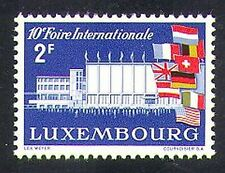 Luxembourg 1958 International Fair/Exhibition/Buildings/National Flags 1v n37361