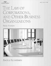 The Law of Corporations and Other Business Organizations (West Legal Studies S..