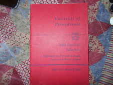 1949 Pennsylvania Penn Quakers Football Guide   Ivy League   MINT             AD