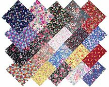 "20 10"" Quilting Fabric Layer Cake Squares Among the Flowers Prints NEW ITEM"