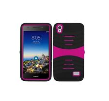 U-Stand Hybrid Armor Case Phone Cover for Huawei Pronto LTE SnapTO H891L G620