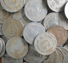 100 Coins LOT - 1982 - ASIAN GAMES - DABBU 8.0 Grams- Rs 2 Coin - india