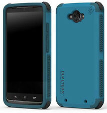 PUREGEAR DUALTEK CARIBBEAN BLUE CASE FOR MOTOROLA DROID TURBO XT1254