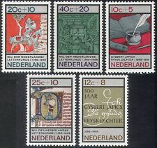Netherlands 1966 Welfare Fund/Printing Press/Horse/Books/Writing 5v set (n30871)
