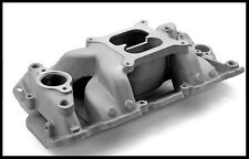 SBC CHEVY ELIMINATOR SATIN FINISH INTAKE MANIFOLD PC-2026/ PCE147.1019
