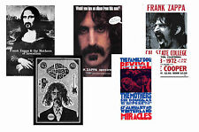FRANK ZAPPA - SET OF 5 - A4 POSTER PRINTS # 1
