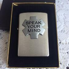 ZIPPO MARLBORO SPEAK YOUR MIND NEW IN BOX