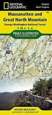 National Geographic Trails Illustrated VA/ WV Massanutten Trail Map 792