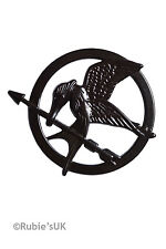 Rubies HUNGER GAMES Katniss EVERDEEN NUOVO MOCKINGJAY PIN BADGE Costume Accessorio