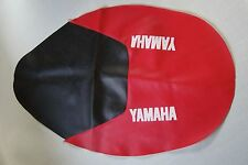 Motorcycle seat cover - Yamaha TT600S in red & black