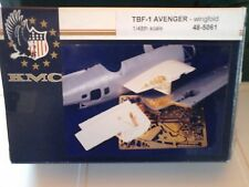 TBF-1 AVENGER WINGFOLD 1/48 SCALE KMC ACCESSORIES +RESIN PARTS+PHOTOETCHED