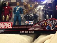 Marvel Titan Hero Series 12 Inch Action Hero Iron Man Quick Silver War Machine